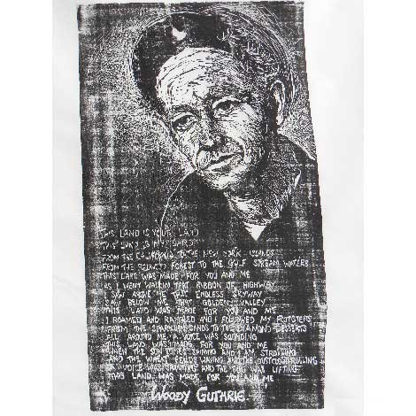 Woody Guthrie. 2000